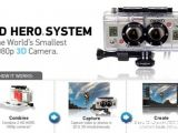 GoPro 3D HERO: Sistema di risprese video HD in 3D