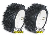 GRP Gandini - Gomme per buggy 1/6 W78 Cross e W79 Grip