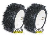 GRP Gandini - Gomme per buggy 1/6 W78 Cross e W79 Grip