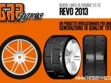 GRP Tyres REVO 2013: Gomme per Touring Car in scala 1/5