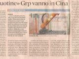 Sole 24 Ore - GRP Gandini venduta ai cinesi o giornalismo alla frutta?