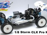 GS Racing CLX Storm - Buggy in scala 1:8 Versione Kit