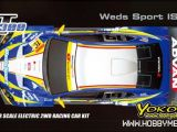 Yokomo GT300 con carrozzeria Weds Sport Lexus IS350