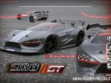 HobbyTech: Video STR8 GT 4WD Race Roller in scala 1/8