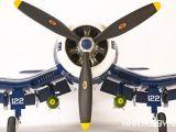 Hangar 9 F4U-1D Corsair 60cc Saito FG84R3