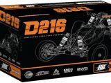 Hot Bodies D216 1/10: Buggy da competizione 2WD