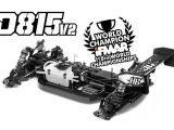 HotBodies D815 V2 - Buggy da competizione 1/8 Nitro