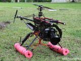 Canon 7D + elicottero RC per fare riprese HD in volo