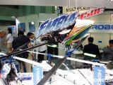 Hirobo EMBLA 450e Transforming 3D: Fiera del modellismo Tokyo Hobby Show 2011