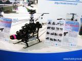 Hirobo alla fiera di Norimberga - Elicotteri Radiocomandati  Rotore FZ5 - Turbulence D3 - SST Eagle3 SWM AOCC