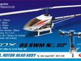 Hirobo SDX DS3: Elicottero classe 50 per volo acrobatico 3D