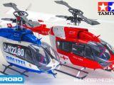 Hirobo SRB EC145 Eurocopter RTF con fusoliera Tamiya