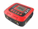 Hitec X4 Pro: caricabatterie a quattro porte per batterie NiMH, NiCd, LiPo, LiFe, Lilon e LiHV