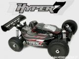 HoBao Hyper7 RTR: Buggy 2,4GHz a scoppio in scala 1/8