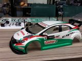 Honda Civic Type R WTCC: carrozzeria in scala 1/10