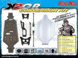HongNor Truggy X2-CR - Kit di conversione per il telaio