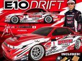 RC Drift - HPI e10 Discount Tire Falken Tire Nissan S13