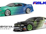 HPI E10: Carrozzeria Ford Mustang Falken e Monster Energy