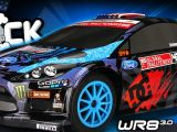 HPI Ken Block GRC Fiesta WR8 3.0 in scala 1/8 a scoppio!