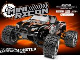 Video HPI Mini Recon Mini Monster Truck 4WD in scala 1/18