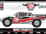 HPI Mini Trophy 4WD Desert truck in scala 1/12