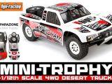 HPI Mini Trophy Desert Truck 4WD con carrozzeria Yokohama