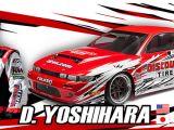 HPI Nitro RS4-3 Drift Nissan S13 Dai Yoshihara Discount Tire
