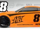 HB Racing RGT8: kit automodello 1/8 a scoppio