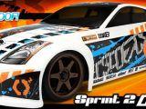 HPI Sprint 2 Drift RTR con carrozzeria Nissan 350Z