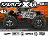 Savage X 4.6 Big Block 2,4 GHz 2011 - Monster Truck 4WD