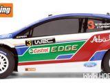HPI WR8 3.0 Ford Abu Dhabi Castrol Fiesta WRC 2011