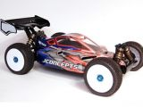 JConcept Hi Flow - Associated RC8e - Carrozzeria Buggy 