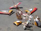 Video: incidenti aeromodellistici - Radio Control Airplane Crash