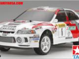 Calendario 2010 - Febbraio - Tamiya RC Mitsubishi Lancer Evo IV Monte Carlo