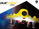 Spektrum DX6e Lap Timer e Inductrix FPV Race - VIDEO