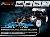 INTECH BR-6 2.0 Pro kit: Buggy Nitro in scala 1/8