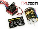 Tevatron Brushless System: Motore, regolatore ESC e scheda di programmazione - ITALTRADING