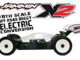 JAMMIN X2 Buggy 1:8 Offroad - Kit di conversione elettrico