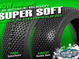 JConcepts Double Dees Super Soft - Gomme per buggy 1/8