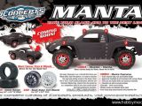 JConcepts Manta - Carrozzeria per Traxxas Slash 4x4