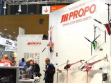 JR Propo Forza 450 EX e radiocomando 28X - Toy Fair 2014