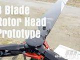 Video Airskipper E8-FBL: Prototipo di rotore tripala JR Propo