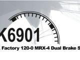ED Modellismo: MRX4 Kit freno con piastrine in ferodo a doppio disco