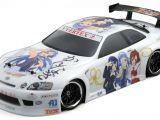 Manga, anime e modellismo: Arriva l'itasha radiocomandata di Kannagi Crazy Shrine Maidens - HPI E10DT Toyota JZZ30 Soarer kit - Drift RC