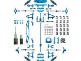 Kit conversione in alluminio Tamiya TT02 Yeah Racing