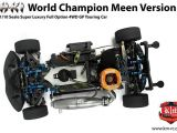 KM Racing HK1 Meen: Touring Car GP 4WD in scala 1/10