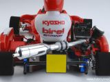 Kyosho Go Kart Birel Motorsport - Parti opzionali per scarico, catena di trasmissione e gomme