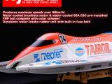 Kyosho Primaclasse EP Formula Boat Tamoil 600 PIP motoscafo RC brushless - SCOOP!