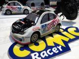 Kyosho Comic Racer Subaru WRX STI NBR Challenge 2010