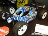 Tokyo Hobby Show 2010 - Kyosho DBX 2.0 Video Buggy Nitro 4WD in scala 1/10